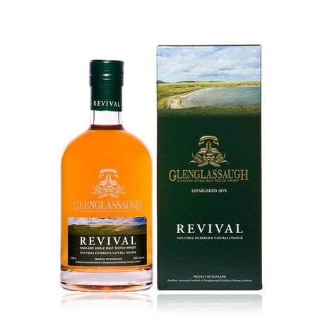Glenglassaugh Flagship Revival Single Malt Whisky 46% 0.7L