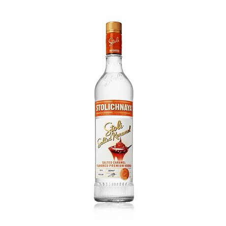 Stoli SALTED KARAMEL vodka 37,5% 0.7L