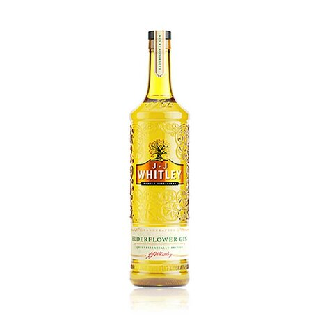 JJ Whitley Elderflower Gin 40% 0.6L